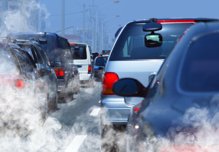 high blood pressure air pollution