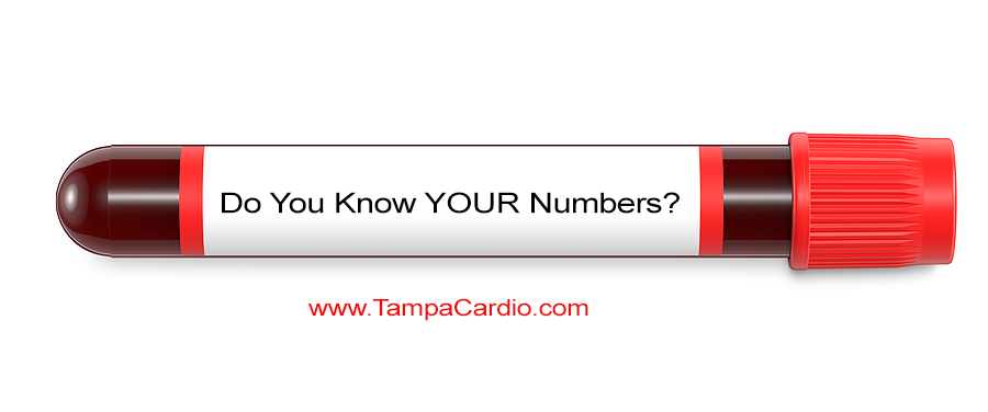 tampa cardio blood work ranges
